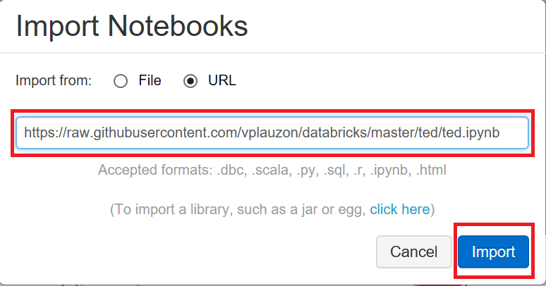 Import Notebooks in Databricks – Vincent-Philippe Lauzon's